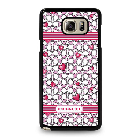 COACH NEW YORK LOVE-samsung-galaxy-note-5-case-cover