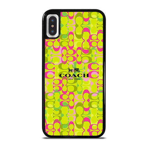 COACH NEW YORK NEW DESIGN-iphone-x-case-cover