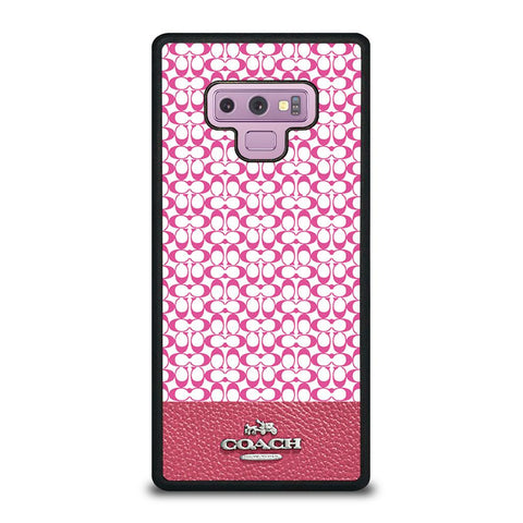 COACH NEW YORK PINK-samsung-galaxy-note-9-case-cover