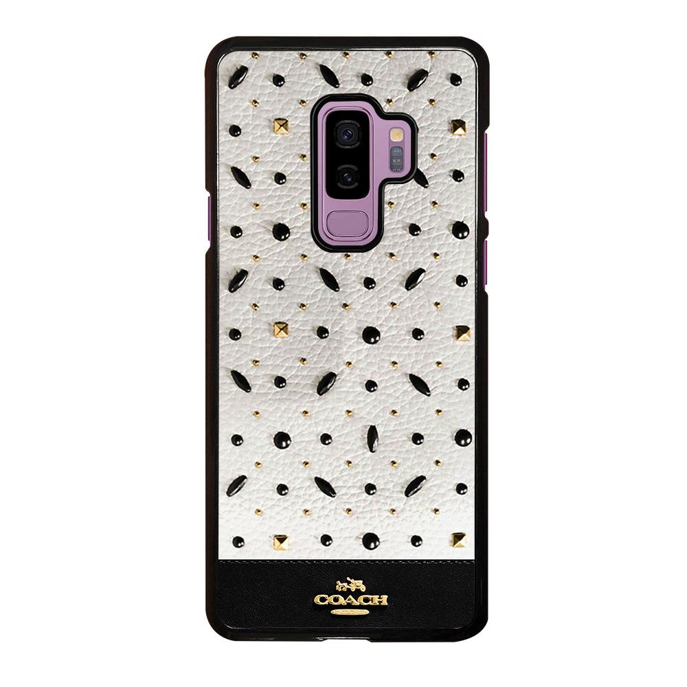 check out 221a8 11224 COACH NEW YORK STONE Samsung Galaxy S9 Plus Case Cover - Favocase