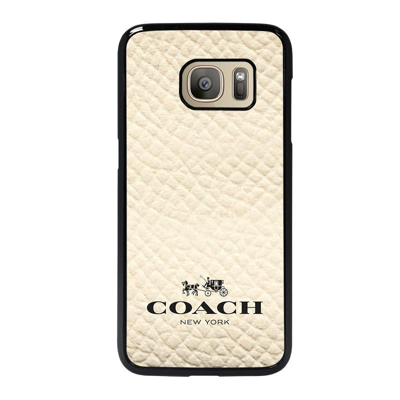 new style 3b543 dcd35 COACH NEW YORK WHITE Samsung Galaxy S7 Case Cover - Favocase