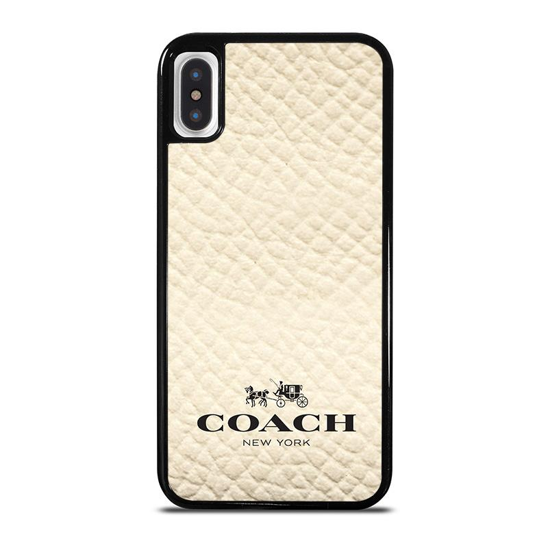 size 40 54937 6be7f COACH NEW YORK WHITE iPhone X / XS Case Cover - Favocase