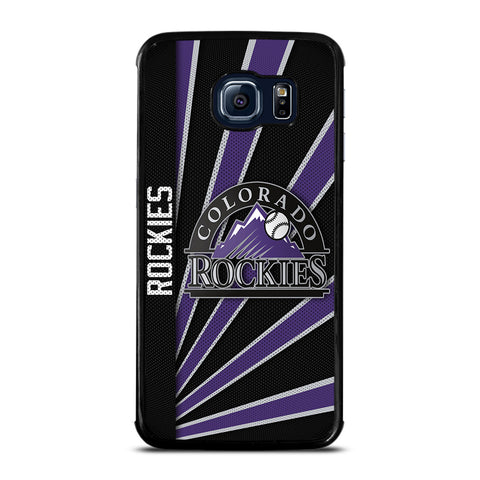 COLORADO ROCKIES LOGO Samsung Galaxy S6 Edge Case Cover