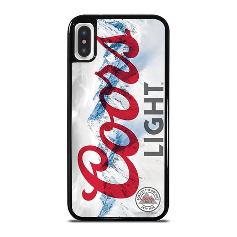 COORS LIGHT BEER 2-iphone-x-case-cover