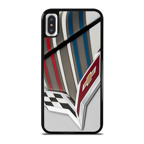 CORVETTE CHEVY CHEVROLET,-iphone-x-case-cover