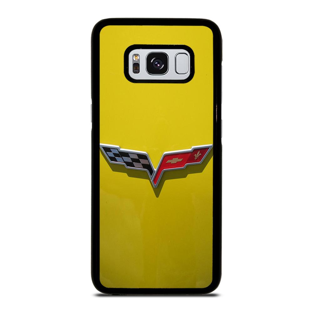 hot sale online 28511 b943a CORVETTE STINGRAY CHEVY YELLOW Samsung Galaxy S8 Case Cover - Favocase