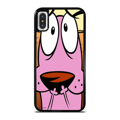 COURAGE THE COWARDLY DOG 3-iphone-x-case-cover
