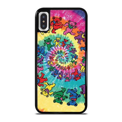 DANCING BEARS GRATEFUL DEAD iPhone X / XS Case - Best Custom Phone Cover Cool Personalized Design