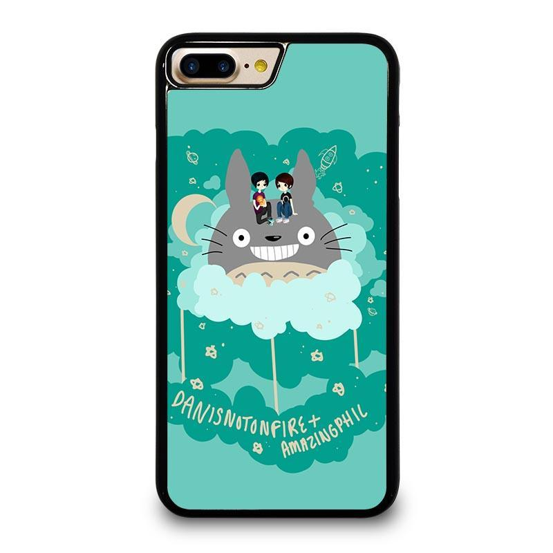 finest selection 0cbd6 1e4af DAN AND PHIL TOTORO iPhone 7 Plus Case Cover - Favocase