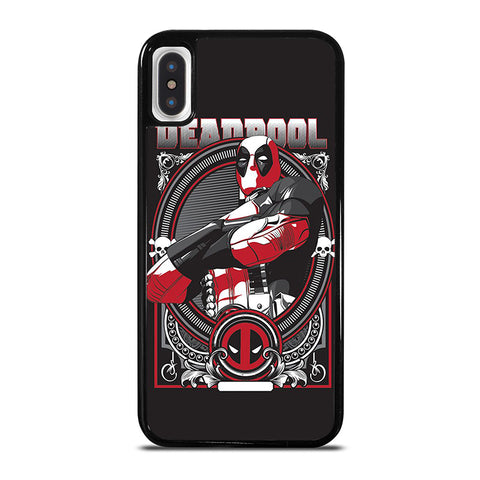 DEADPOOL ART 2 iPhone X / XS Case - Best Custom Phone Cover Cool Personalized Design