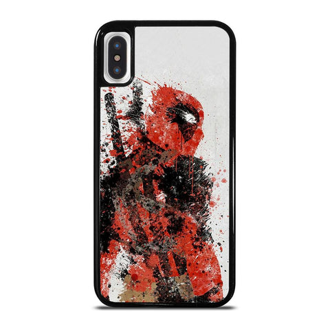 DEADPOOL ART 3-iphone-x-case-cover