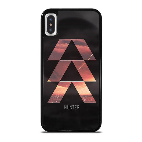 DESTINY-HUNTER-LOGO-iphone-x-case-cover