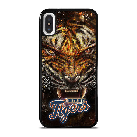 DETROIT TIGERS BASEBALL iPhone X / XS Case - Best Custom Phone Cover Cool Personalized Design