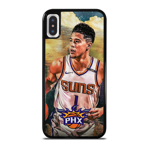 DEVIN BOOKER PHOENIX SUNS NBA-iphone-x-case-cover