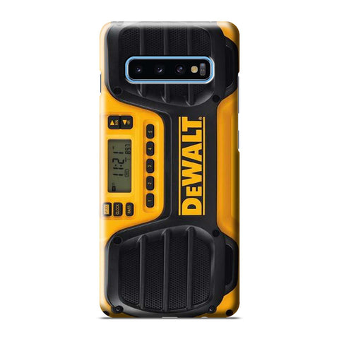 DEWALT JOBSITE RADIO Samsung Galaxy S6 S7 S8 S9 S10 S10e Edge Plus Note 8 9 10 10+ 3D Case Cover
