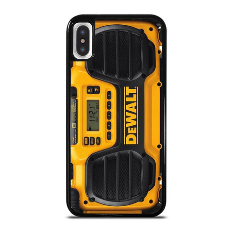 DEWALT JOBSITE RADIO-iphone-x-case-cover