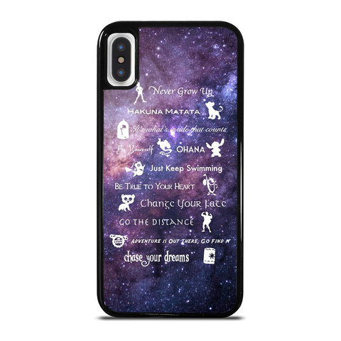 DISNEY LESSONS LEARNED MASH UP NEBULA-iphone-x-case-cover