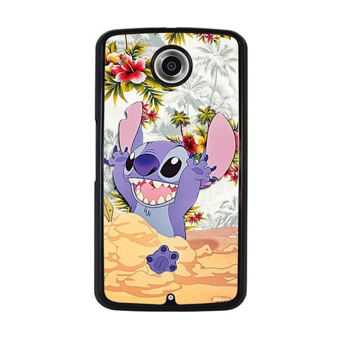 DISNEY-LILO-&-STITCH-VINTAGE-FLORAL-nexus-6-case-cover