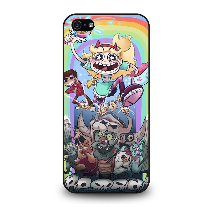 los angeles 28e6c 2697b DISNEY STAR VS THE FORCE OF EVIL iPhone 5 / 5S / SE Case Cover - Favocase