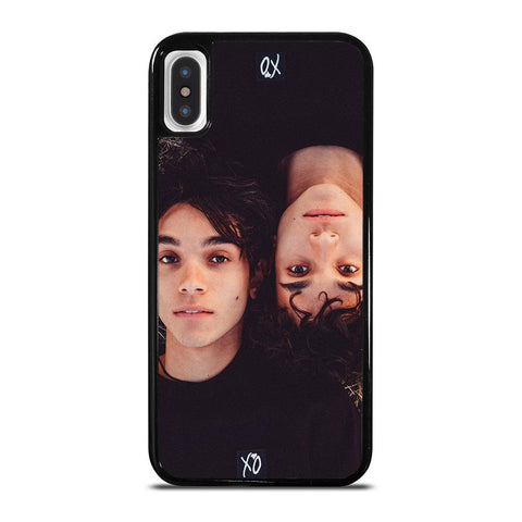 DOBRE BROTHER TWINS-iphone-x-case-cover