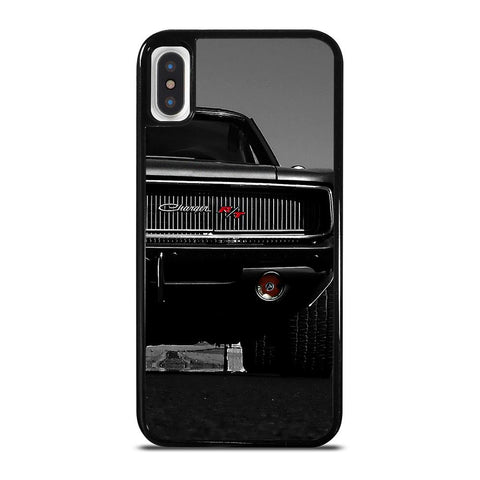 DODGE CHARGER CLASSIC CAR-iphone-x-case-cover