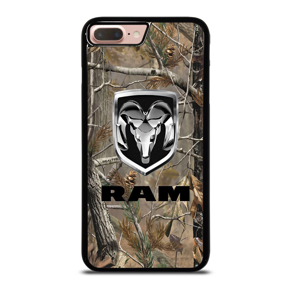 promo code d5adf e90cc DODGE RAM CAMO LOGO iPhone 8 Plus Case Cover - Favocase
