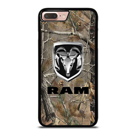 DODGE RAM CAMO LOGO-iphone-8-plus-case-cover