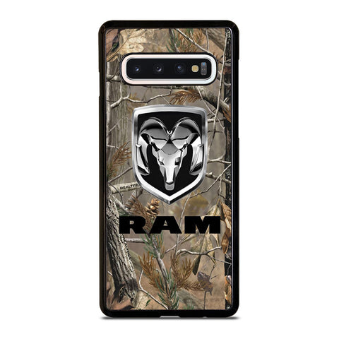 DODGE RAM CAMO LOGO-samsung-galaxy-s10-case-cover