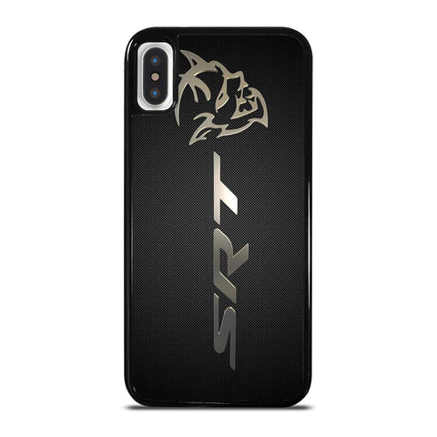 DODGE SRT LOGO-iphone-x-case-cover