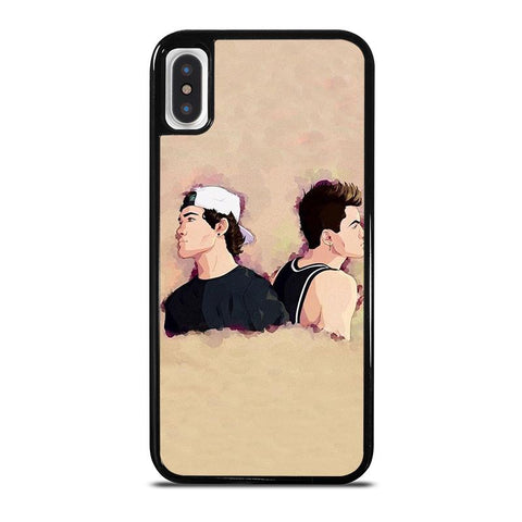 DOLAN TWINS ART-iphone-x-case-cover