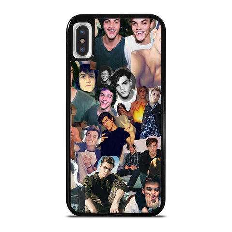 DOLAN TWINS COLLAGE 2-iphone-x-case-cover