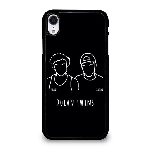 DOLAN TWINS DRAWING CARTOON-iphone-xr-case-cover