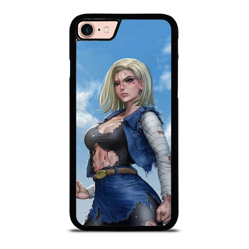 the latest 2e7b3 1b07f DRAGON BALL ANDROID 18 iPhone 8 Case Cover - Favocase