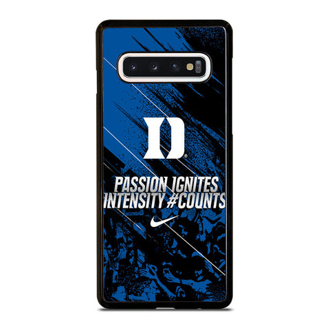 DUKE BLUE DEVILS PASSION IGNITES-samsung-galaxy-s10-case-cover