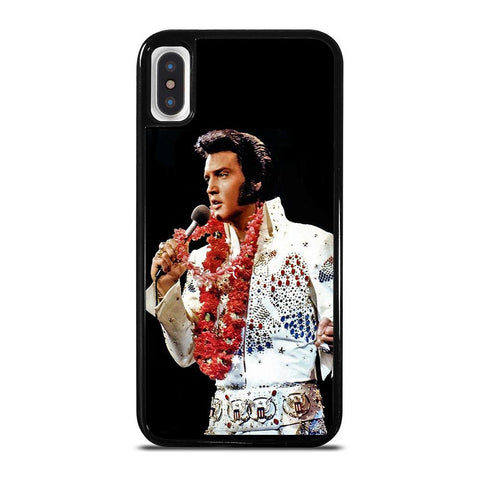 ELVIS PRESLEY KING-iphone-x-case-cover