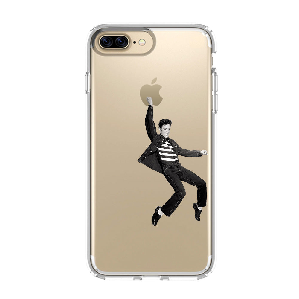 ELVIS PRESLEY iPhone 5/5S/SE 6/6S 7 8 Plus X/XS Max XR Clear Case  Transparent , Favocase