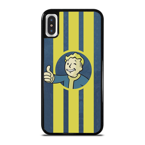 FALLOUT VAULT BOY 2-iphone-x-case-cover