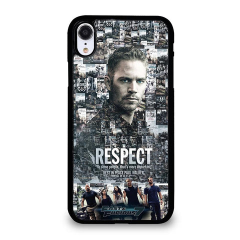 FAST FURIOUS 7 PAUL WALKER-iphone-xr-case-cover