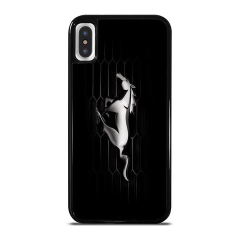 FORD MUSTANG EMBLEM-iphone-x-case-cover