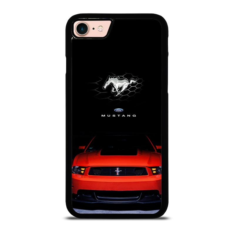new style 75211 6c41f FORD MUSTANG RED iPhone 8 Case Cover - Favocase
