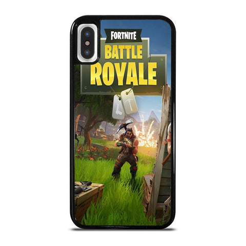 FORTNITE BATTLE ROYAL-iphone-x-case-cover