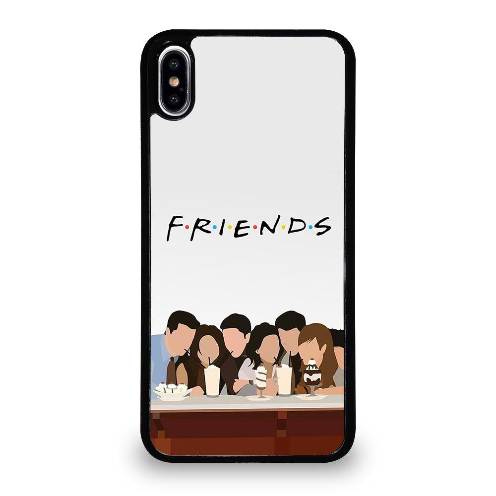 size 40 ad3bb 74624 FRIENDS CARTOON iPhone XS Max Case Cover - Favocase
