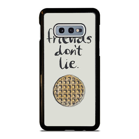 FRIENDS DON'T LIE WAFFLE Samsung Galaxy S10e Case Cover