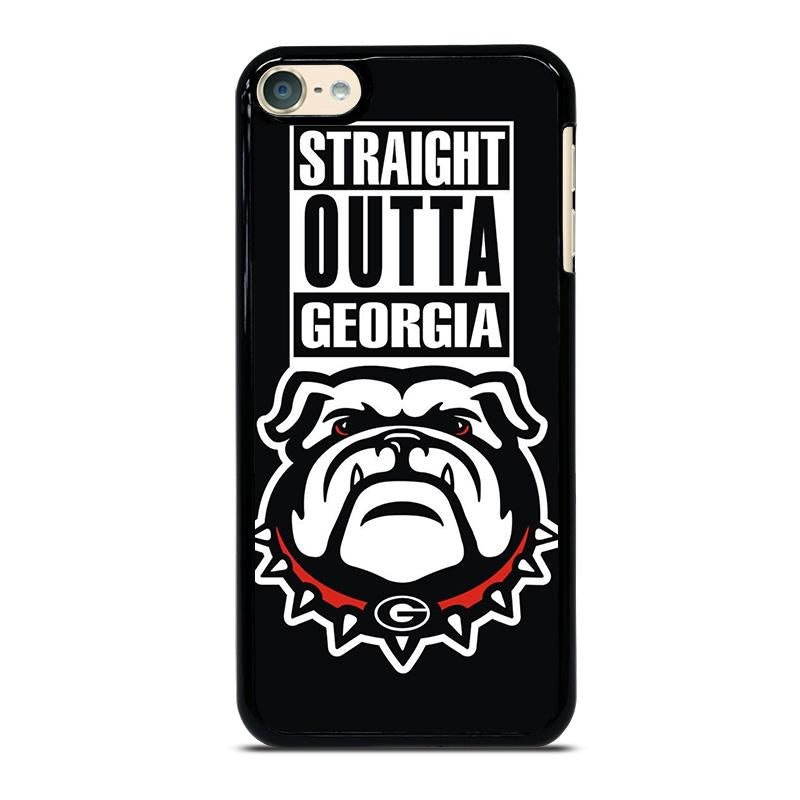 official photos 51c19 0e5d1 GEORGIA BULLDOGS UGA STRAIGHT OUTTA iPod Touch 6 Case Cover - Favocase