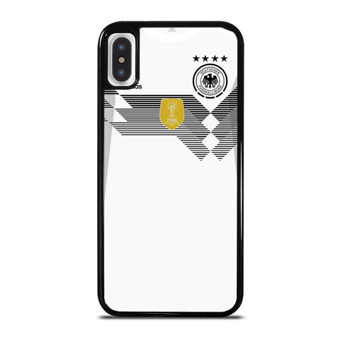 GERMANY DEUTSCHER FOOTBALL JERSEY KIT 2 iPhone X / XS Case - Best Custom Phone Cover Cool Personalized Design