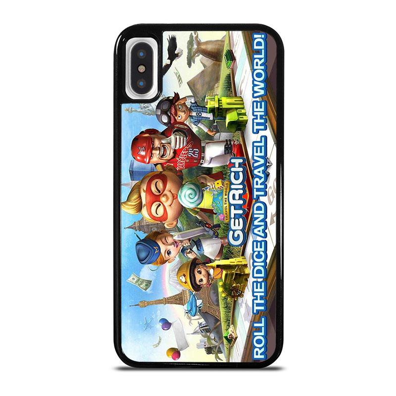 finest selection 7b02a f5ad5 GET RICH GAME Travel The World iPhone X / XS Case Cover - Favocase