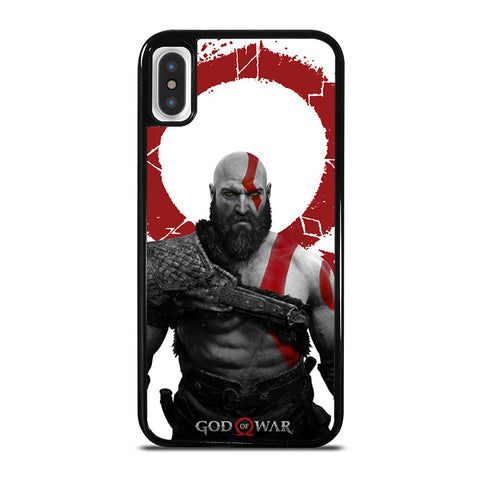 GOD OF WAR 4 KRATOS iPhone X / XS Case - Best Custom Phone Cover Cool Personalized Design