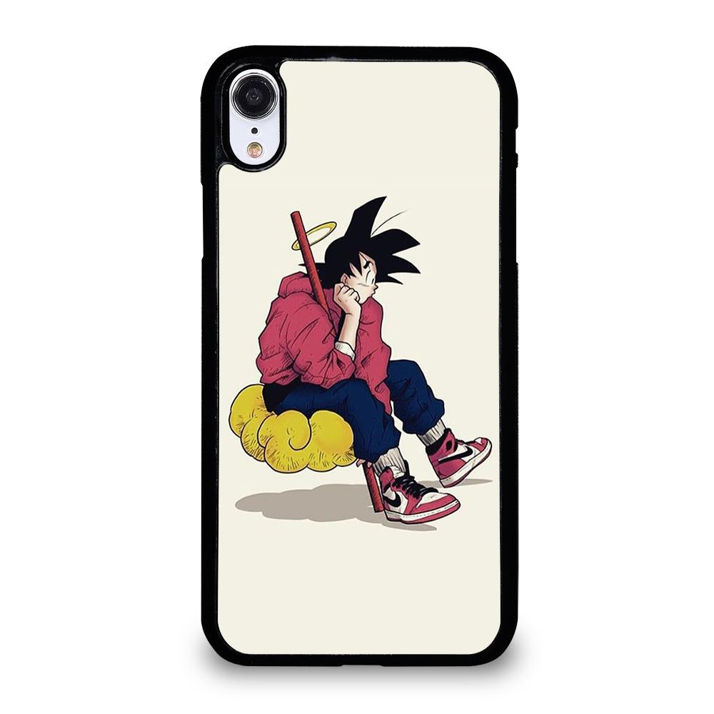 finest selection 18305 5dde7 GOKU AIR JORDAN DRAGON BALL iPhone XR Case Cover - Favocase