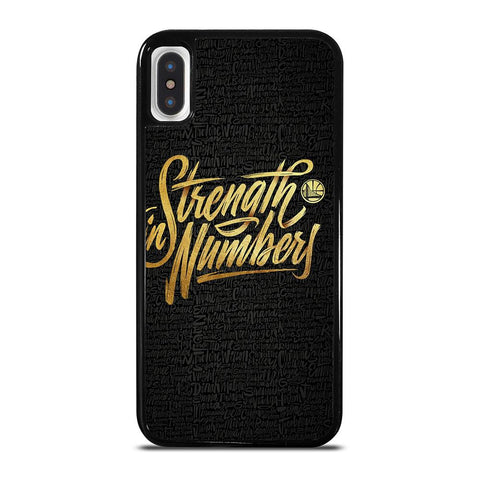GOLDEN STATE WARRIORS STRENGTH-iphone-x-case-cover