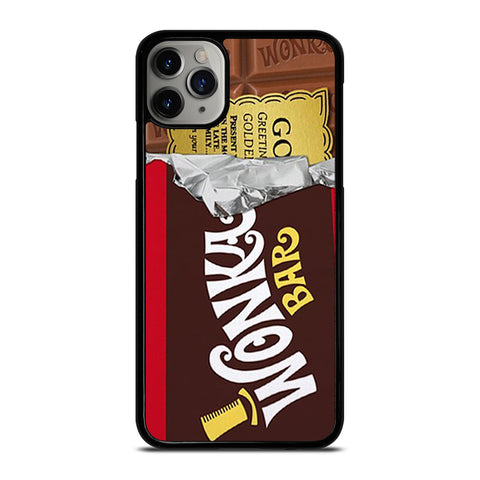 GOLDEN TICKET CHOCOLATE WONKA BAR-iphone-11-pro-max-case-cover